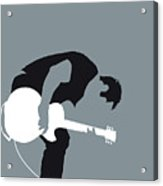 No197 My Nine Inch Nails Minimal Music Poster Acrylic Print