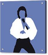No198 My Barry Manilow Minimal Music Poster Acrylic Print