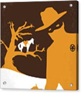 No202 My The Lone Ranger Minimal Movie Poster Acrylic Print