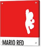 No33 My Minimal Color Code Poster Mario Acrylic Print