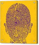 No439 My The Bourne Identity Minimal Movie Poster Acrylic Print