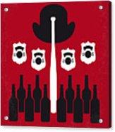 No463 My The Untouchables Minimal Movie Poster Acrylic Print
