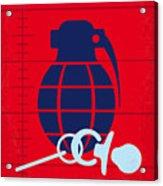No477 My Raising Arizona Minimal Movie Poster Acrylic Print