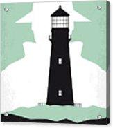 No513 My Shutter Island Minimal Movie Poster Acrylic Print