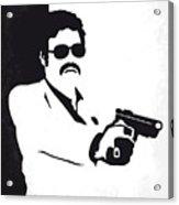 No526 My Medellin Minimal Movie Poster Acrylic Print