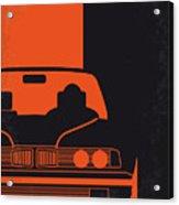 No552 My The Transporter Minimal Movie Poster Acrylic Print