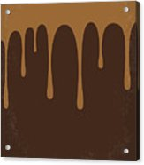 No567 My Chocolat Minimal Movie Poster Acrylic Print