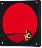 No620 My The Martian Minimal Movie Poster Acrylic Print