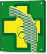 No628 My Drugstore Cowboy Minimal Movie Poster Acrylic Print