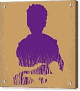No636 My Looper Minimal Movie Poster Acrylic Print