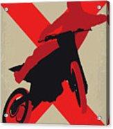 No728 My Xxx Minimal Movie Poster Acrylic Print