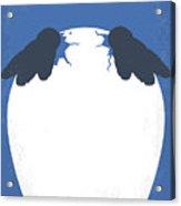 No744 My Happy Feet Minimal Movie Poster Acrylic Print