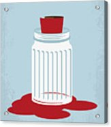 No748 My American Gangster Minimal Movie Poster Acrylic Print