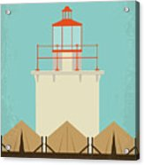 No760 My Moonrise Kingdom Minimal Movie Poster Acrylic Print