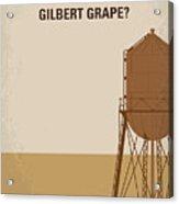 No795 My Whats Eating Gilbert Grape Minimal Movie Poster Acrylic Print