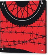 No958 My The Great Escape Minimal Movie Poster Acrylic Print