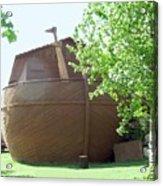 Noah's Ark At The Jerusalem Zoo Acrylic Print