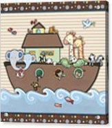 Noah's Ark Acrylic Print by Cheryl Marie
