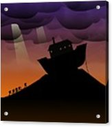 Noah's Ark Discovery Acrylic Print by Nestor PS