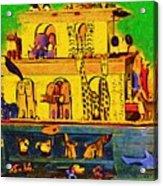 Noahs Ark From My Point Acrylic Print