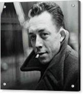 Nobel Prize Winning Writer Albert Camus Unknown Date #2 -2015 Acrylic Print
