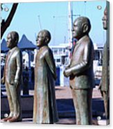 Nobel Square  /  To Honor South Africa's Four Nobel Peace Prize Laureates Acrylic Print