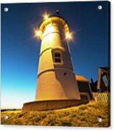 Nobska Light Falmouth Ma Cape Cod Window Shadow Acrylic Print