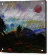 Noche Equatorial  Acrylic Print