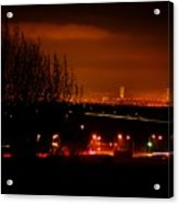 Nocturnal Highway Acrylic Print