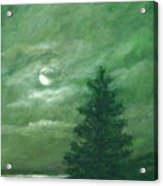 Nocturne In Green Acrylic Print