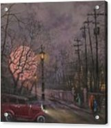 Nocturne In Lavender Acrylic Print