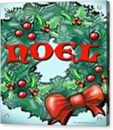 Noel Acrylic Print
