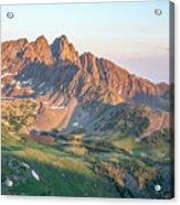 Nokhu Crags Sunrise Acrylic Print