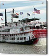 Nola Natchez Riverboat Acrylic Print