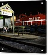 New Orleans Train Stop Acrylic Print