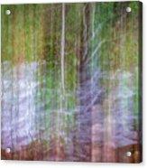 Noland Creek Abstract 1 Acrylic Print