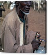 Nomad In Senegal Acrylic Print