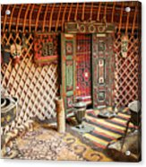 Nomad Yurt Acrylic Print