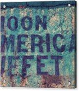 Noon American Buffet Acrylic Print