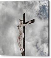 Nordic Female Jesus Acrylic Print