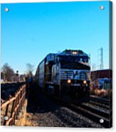 Norfolk Southern Engine 9899 Acrylic Print