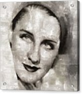 Norma Shearer, Actress Acrylic Print