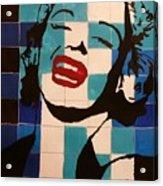 Norma Smiles On Us Acrylic Print