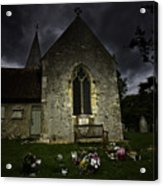 Norman Church At Lissing Hampshire England Acrylic Print