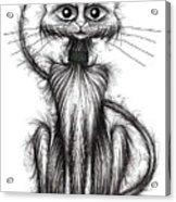 Norman The Cat Acrylic Print