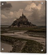 Normandy Clouds Acrylic Print