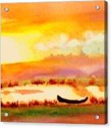 Normandy Fields Acrylic Print