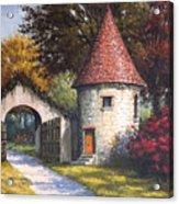 Normandy Garden Acrylic Print