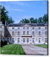 Normandy Manor House Acrylic Print