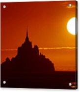 Normandy Sunset Acrylic Print
